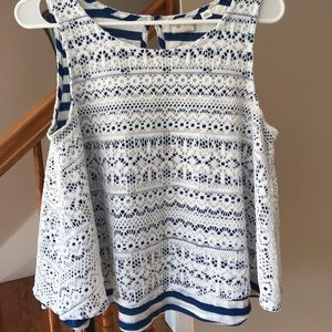 Anthropologie 9-H15 STCL Top